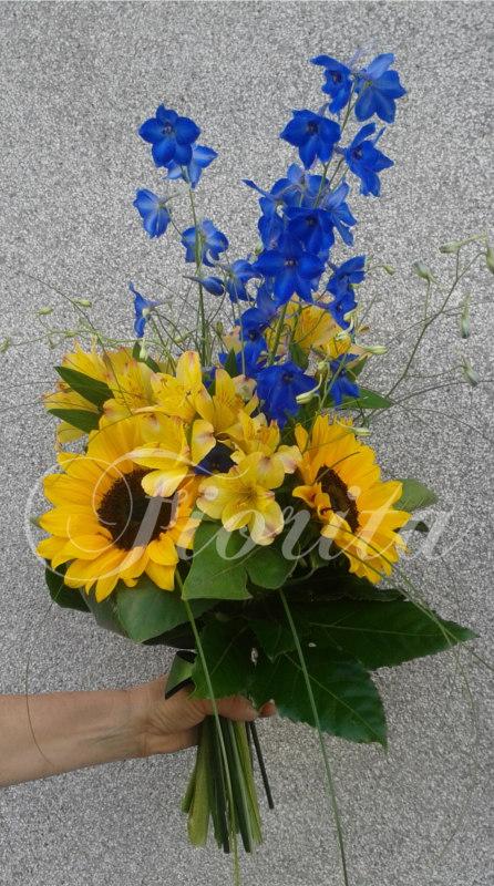 kvetiny-praha-panska-kytice-k-promoci-slunecnice-alstroemerie-ostrozka-rozvoz