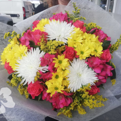 bright gift bouquet