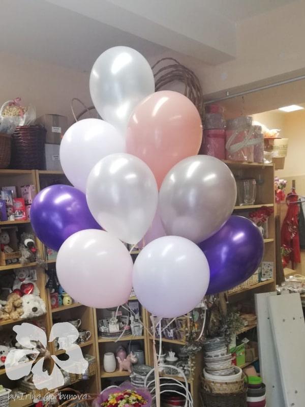 15 balónků s heliem