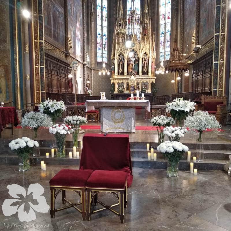 Květiny pro svatební obřad