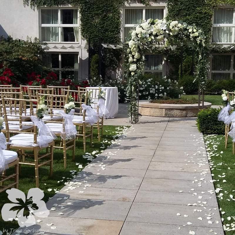 Wedding at the Mandarin Oriental