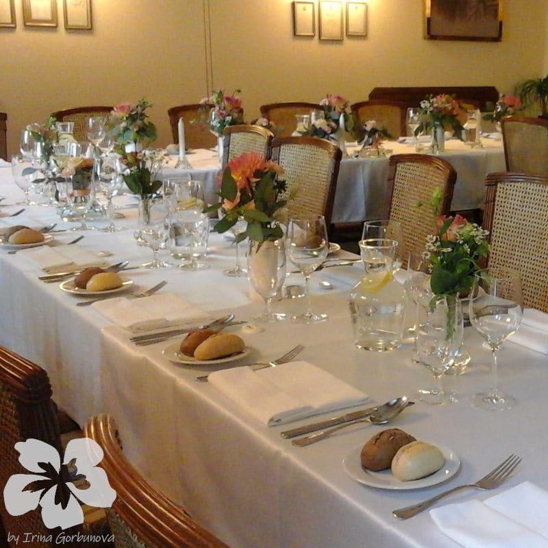 Wedding in the Villa Voyta restaurant