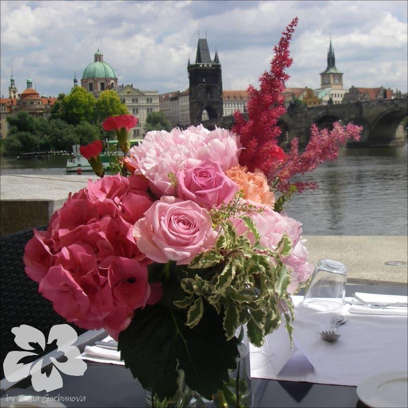 Svatba v restauraci Hergetova Cihelna