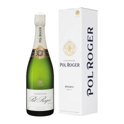 Pol Roger Brut Réserve box 0,75l